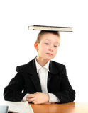 Bambino con il libro Immagini Stock Libere da Diritti