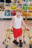 Bambino con l'inabilità Fotografia Stock Libera da Diritti