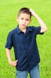 Bambino confuso Fotografie Stock Libere da Diritti