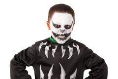 Bambino in costume di Halloween Immagini Stock