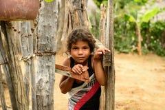Bambino cubano dell'agricoltore Immagine Stock Libera da Diritti