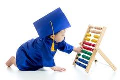 Bambino d'apprendimento in anticipo Immagini Stock