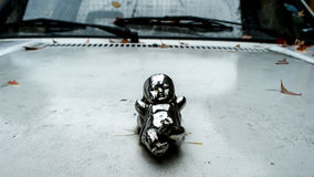 Bambino d'argento, decorazione dell'automobile Fotografia Stock Libera da Diritti