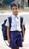 Bambino del banco Fotografia Stock Libera da Diritti