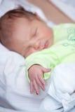 bambino del braccio appena nato Fotografie Stock Libere da Diritti