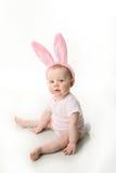 Bambino del coniglietto di pasqua fotografia stock