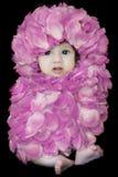 Bambino del fiore Immagini Stock
