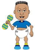 Bambino del fumetto illustrazione vettoriale