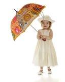 Bambino del parasole immagini stock libere da diritti