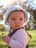 Bambino del prato inglese Fotografie Stock Libere da Diritti