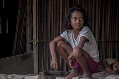 Bambino del Timor Est Immagine Stock