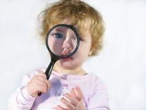 Bambino dell'ispettore Fotografia Stock Libera da Diritti