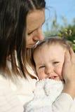 bambino della madre Fotografie Stock