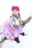 Bambino della neve Immagini Stock Libere da Diritti