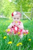 Bambino della primavera Fotografia Stock