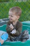 Bambino della sabbiera fotografie stock libere da diritti