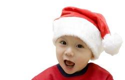 Bambino della Santa di natale immagini stock