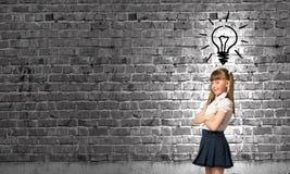 Bambino della scuola Immagine Stock Libera da Diritti