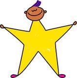 Bambino della stella Fotografie Stock Libere da Diritti