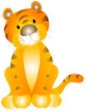 Bambino della tigre Immagini Stock