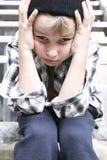 Bambino della via Fotografie Stock Libere da Diritti