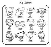 Bambino dello zodiaco di vettore immagine stock