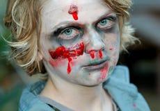 Bambino dello zombie Immagini Stock