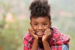 Bambino di afro Fotografia Stock