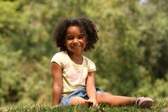 Bambino di Afro   Immagini Stock