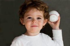 Bambino di baseball Immagini Stock Libere da Diritti