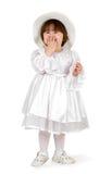 Bambino di bellezza con il cofano Fotografia Stock Libera da Diritti