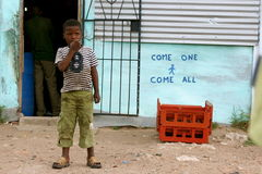 Bambino di borgata Fotografia Stock