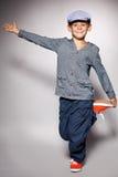 Bambino di Dancing Fotografia Stock Libera da Diritti