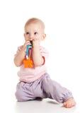 Bambino di dentizione Immagine Stock Libera da Diritti