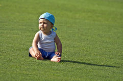 Bambino di dieci mesi Immagine Stock Libera da Diritti