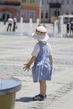 Bambino di estate fotografie stock