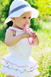 Bambino di estate di modo Fotografie Stock
