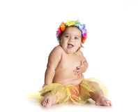 Bambino di Hawai Immagine Stock