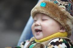 Bambino di inverno Fotografie Stock Libere da Diritti