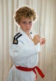 Bambino di judo Immagine Stock
