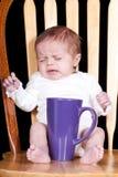 Bambino di mattina Immagini Stock