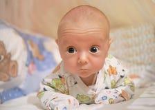 Bambino di mese Immagini Stock