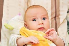 4-5 bambino di mese fotografia stock libera da diritti