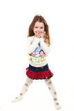 Bambino di modo Fotografie Stock
