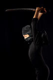 Bambino di Ninja Fotografia Stock Libera da Diritti