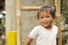Bambino di povertà fotografie stock