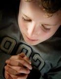 Bambino di preghiera Fotografia Stock Libera da Diritti
