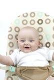 Bambino di rimbalzo felice Fotografia Stock Libera da Diritti