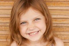 Bambino di risata Fotografie Stock