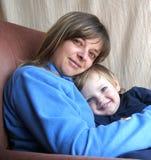 Bambino con la madre Immagine Stock